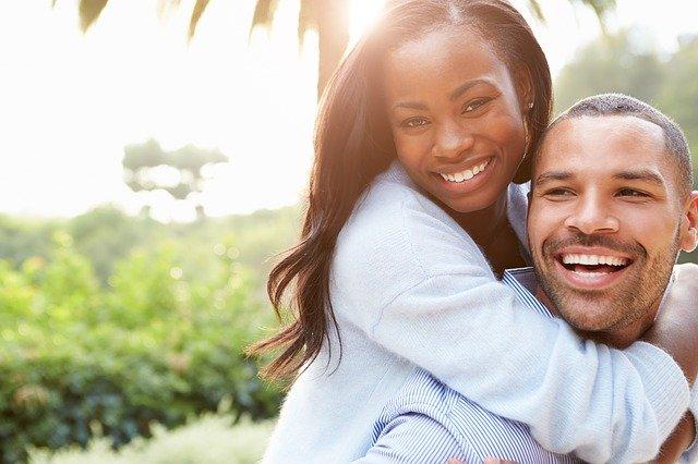 africký pár