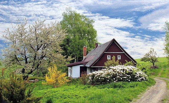 jaro na venkově