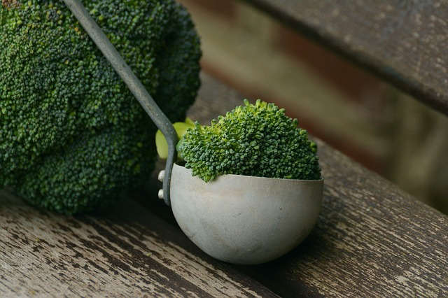 čerstvá brokolice