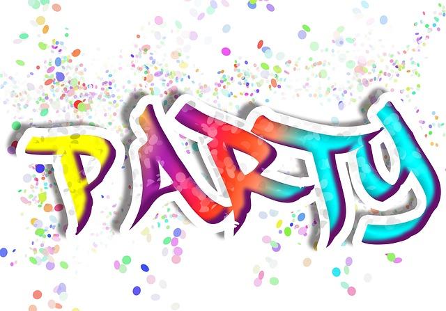 barevná party