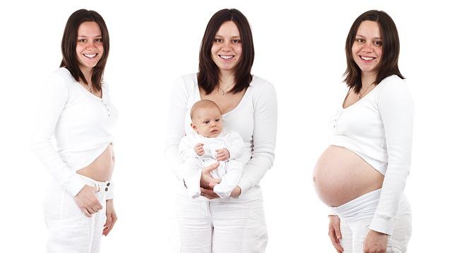 těhotenství a miminko