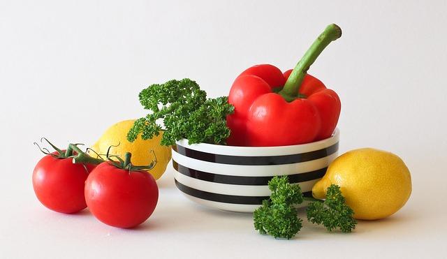zelenina v misce