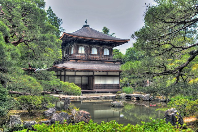 ginkakudži chrám