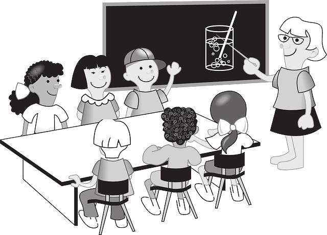 učitelka dětí