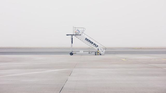 schody do letadla