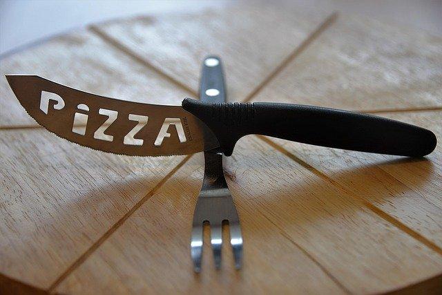 příbor z italské restaurace