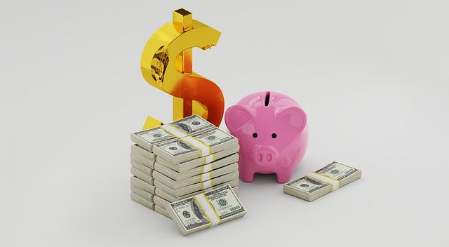 peníze a prasátko