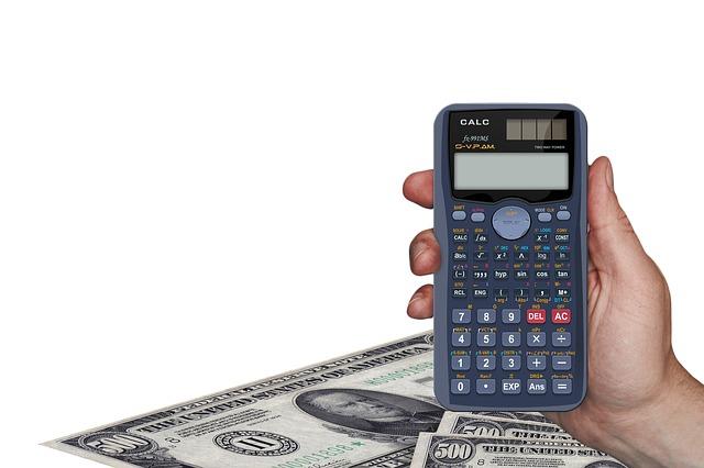 dolary a kalkulačka