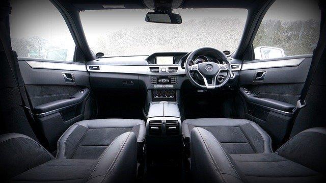 Interiér osobního auta