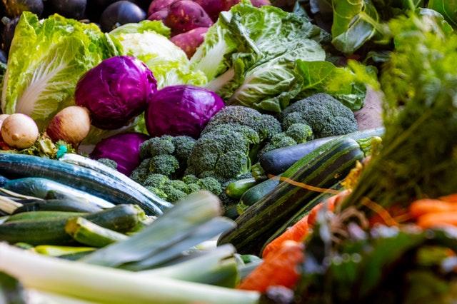 zelenina, brokolice, zelí